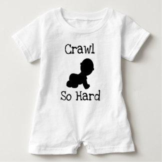 Crawl So Hard Baby Bodysuit