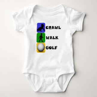 Crawl Walk Golf T Shirt