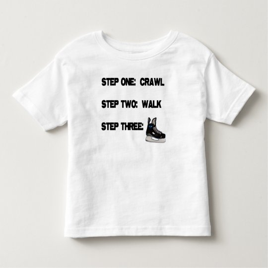 'Crawl, Walk, HOCKEY' T-Shirt