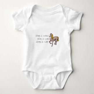 Crawl Walk Ride Baby Bodysuit