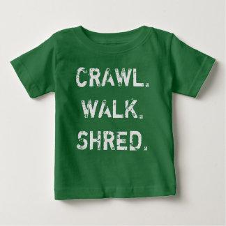 Crawl, Walk, Shred Baby T-Shirt
