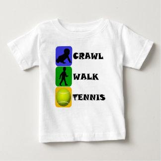 Crawl Walk Tennis Baby T-Shirt