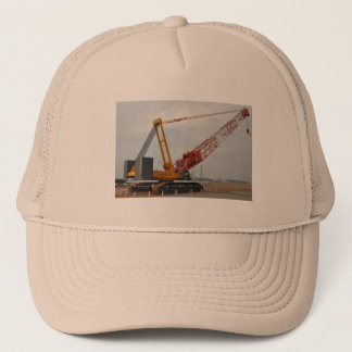 Crawler Crane Trucker Hat