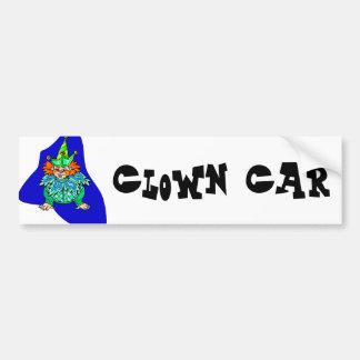 Crawling Clown Car Bumper Sticker