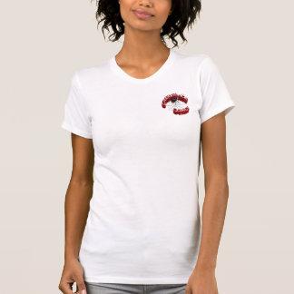 CrawlSpace Comics Ladies T-Shirt - front logo
