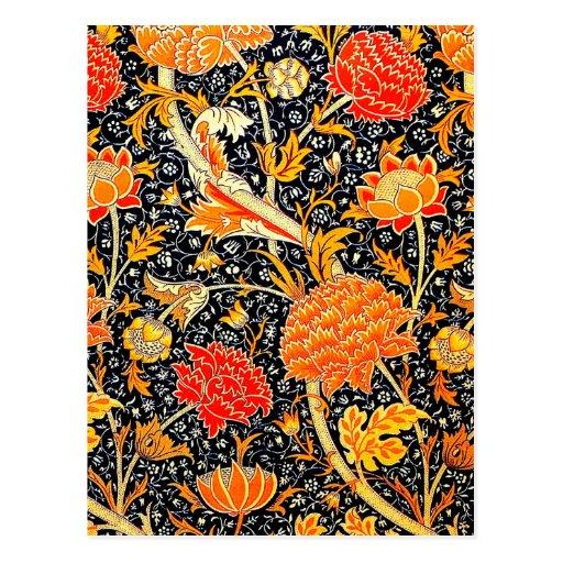 Cray Floral postcard