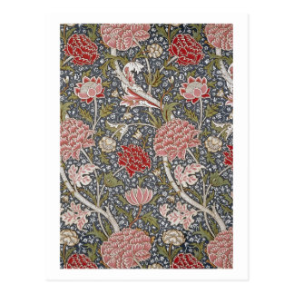 Cray Textile by William Morris Postcard