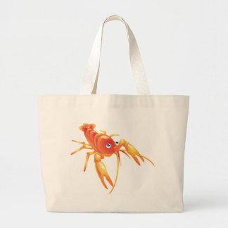 Crayfish Tote Bags