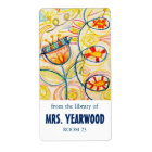 Crayon Art Bookplates