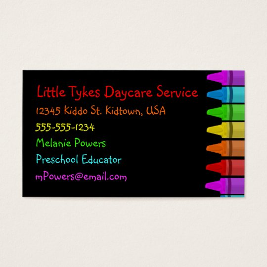 Crayon Business Cards