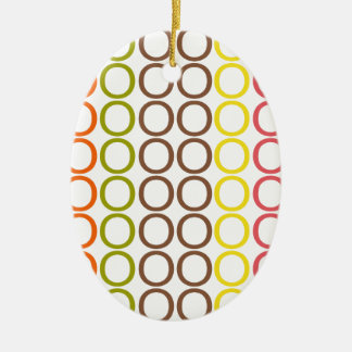Crayon Mixed Splash of O's Christmas Ornament