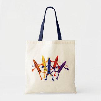 Crayon Party Tote Bag
