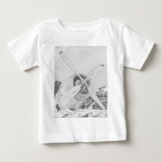 Crayon-plane Baby T-Shirt
