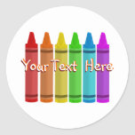 Crayon Stickers