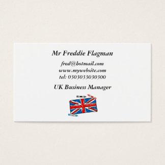 Crayon Union Jack, Business Card
