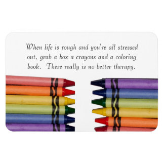 Crayons Advice Flexible Magnets