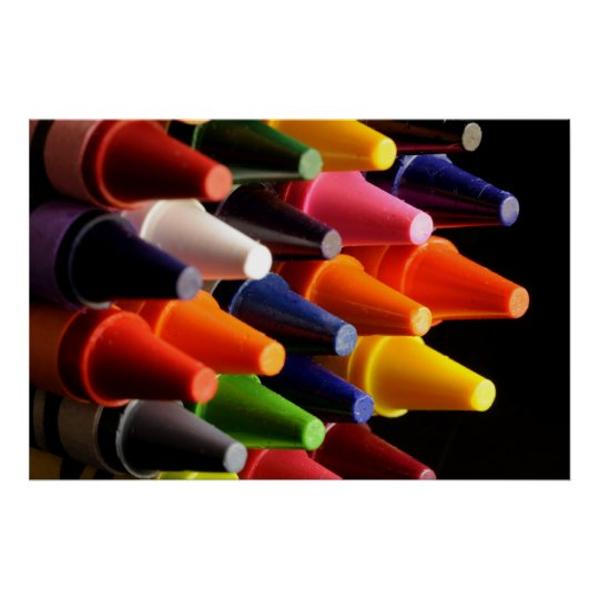 crayons for fun poster