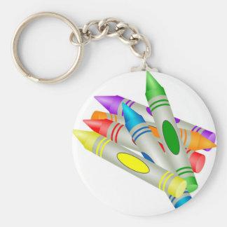 Crayons Key Ring
