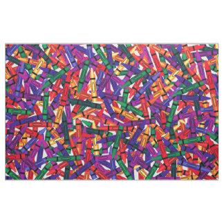 Crayons Kids Crayon  colorful Fabric