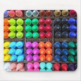 Crayons mousemat