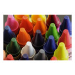 Crayons! Poster
