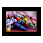 crayons! posters