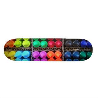 Crayons skateboard