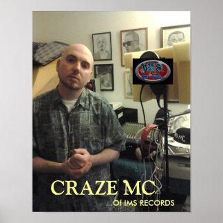Craze MC Studio POSTER 01