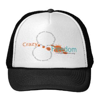 Crazy 8 Freedom Splatter T Mesh Hats