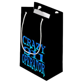 Crazy 911 Operator Small Gift Bag