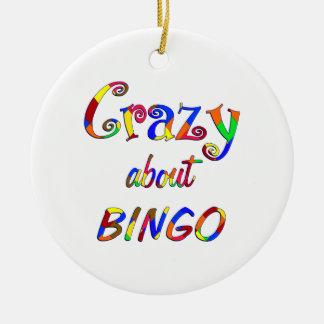 Crazy About Bingo Christmas Ornament