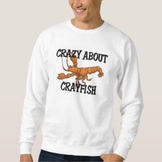 Crazy About Crayfish Sweatshirt
