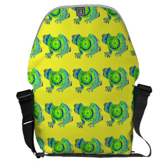 Crazy About Frogs Commuter Bags