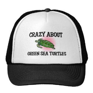 Crazy About Green Sea Turtles Cap