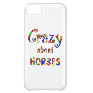 Crazy About Horses Case For iPhone 5C
