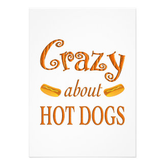 Crazy About Hot Dogs Announcements
