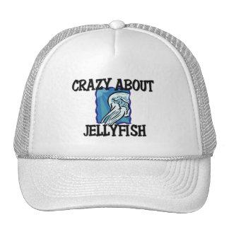 Crazy About Jellyfish Trucker Hat
