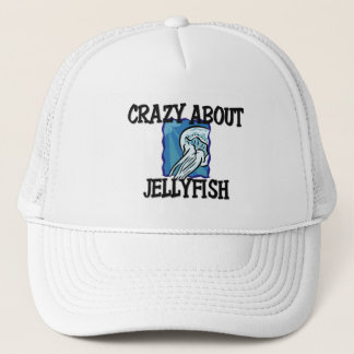 Crazy About Jellyfish Trucker Hat