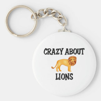 Crazy About Lions Keychains