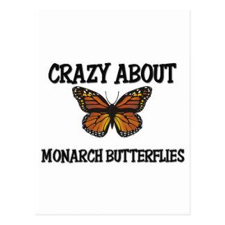 Crazy About Monarch Butterflies Postcard