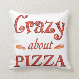 Crazy About Pizza Cushion