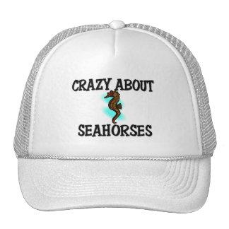 Crazy About Seahorses Cap