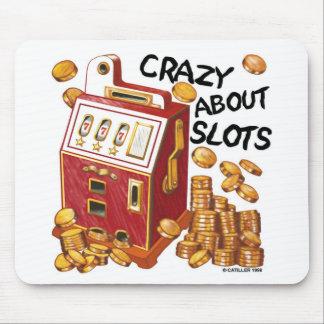 Crazy About Slots Mouse Mat