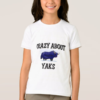 Crazy About Yaks T-Shirt