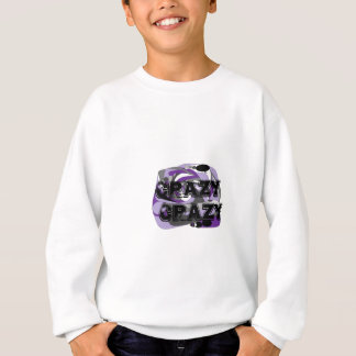 Crazy abstract design sweatshirt