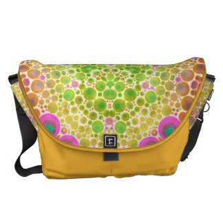 Crazy Abstract Courier Bags
