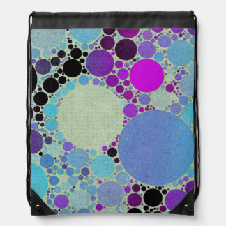 Crazy Abstract Pattern Drawer Bags Drawstring Bag
