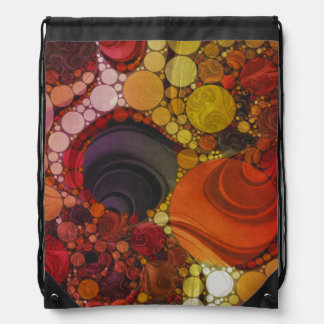 Crazy Abstract Pattern Drawer Bags Drawstring Bags