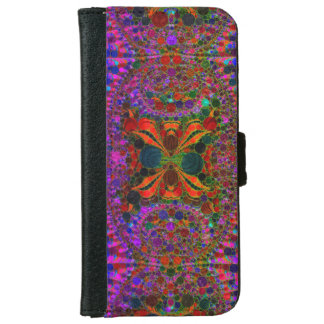 Crazy Abstract Pattern iPhone6 Wallet Cases