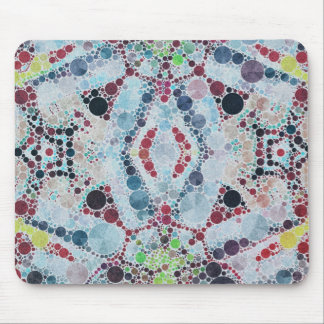 Crazy Abstract Pattern Mouse Pads